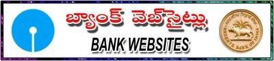 Bank websites