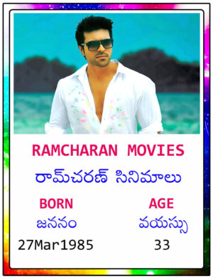 Ramcharan Movies