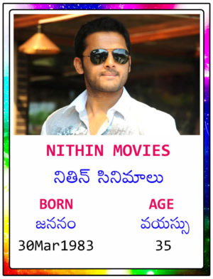Nithin Movies