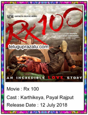 Rx 100 full movie