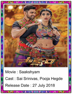 Saakshyam (2018) Telugu Full Movie