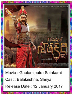 Gautamiputra Satakarni (2017) Telugu Full Movie