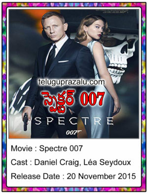 Spectre 007 Movie