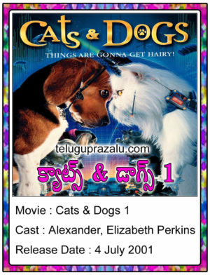 Cats & Dogs 2001 Movie